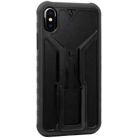 Topeak RideCase para iPhone X Funda, black/grey